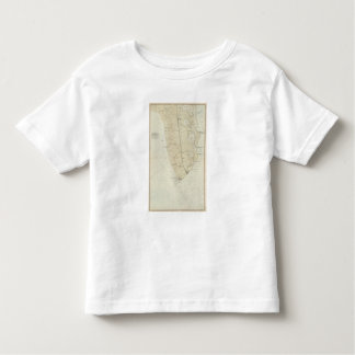 Coast section no 6 Sea Island to Cape May Point Toddler T-shirt