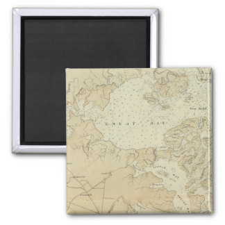 Coast section Tuckerton to Absecon Beach Chart Map Magnet