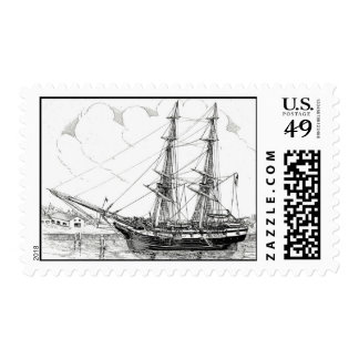 Coast Survey Brig PETER G. WASHINGTON Postage