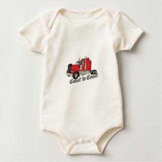 Coast To Coast Baby Bodysuit