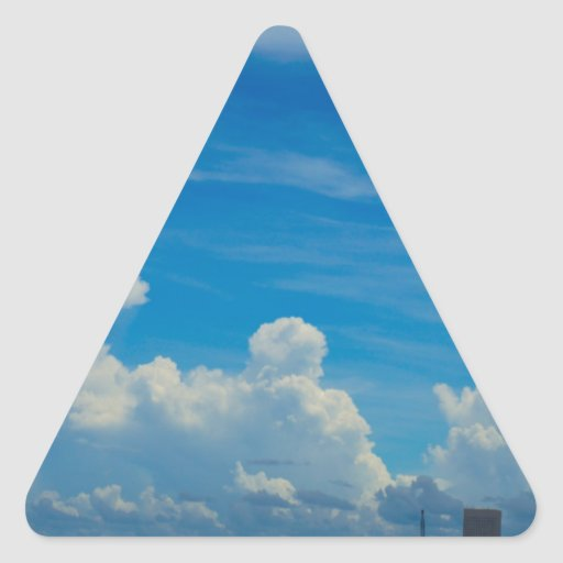 Coast Triangle Sticker