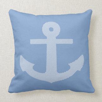 Coastal Anchor Throw Pillow