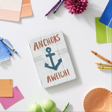 USA Themed Coastal Art | Anchors Away iPad Mini Cover