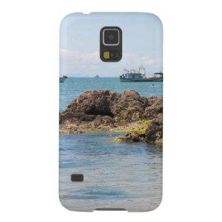 Coastal Art Blue Sea and Boats Photograph Galaxy Nexus Cover