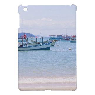 Coastal Art Blue Sea and Boats Photograph Case For The iPad Mini