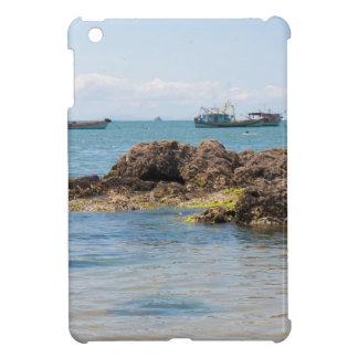 Coastal Art Blue Sea and Boats Photograph iPad Mini Covers