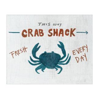 Coastal Art   Crab Shack