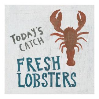 Coastal Art   Fresh Lobsters