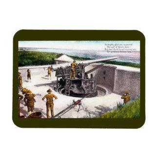 Coastal Artillery Magnet