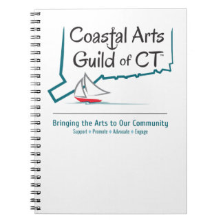 Coastal Arts Guild CT Spiral Notebook