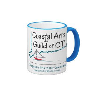 Coastal Arts Guild Logo Mug