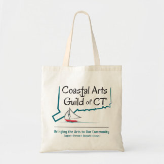 Coastal Arts Guild of CT Budget Tote Bag