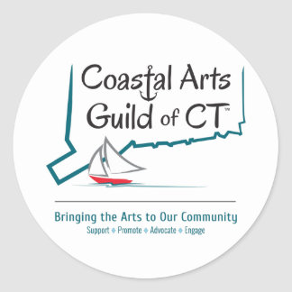Coastal Arts Guild of CT Sticker