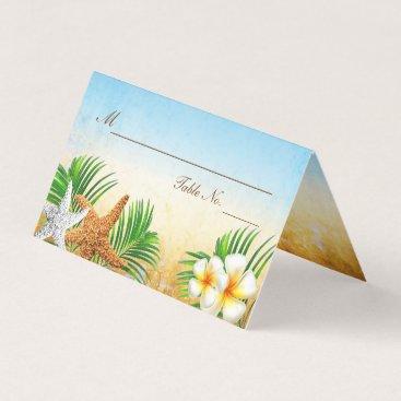 Beach Themed Coastal Beach| Place Cards