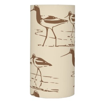 Coastal Beach Sand Pipers Flameless Candle