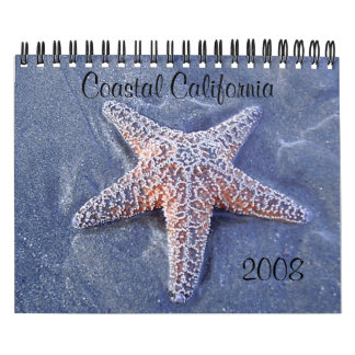 Coastal California Calendar