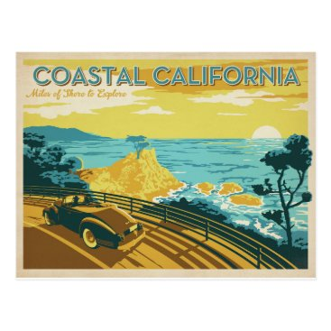 AndersonDesignGroup Coastal California Postcard