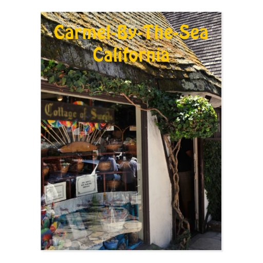 Coastal Candy Store Postcard