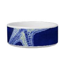 coastal chic beach rustic nautical blue starfish bowl