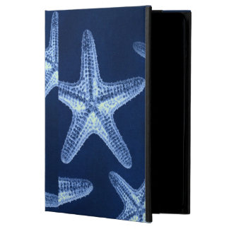 coastal chic beach rustic nautical blue starfish cover for iPad air