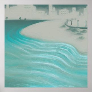 Coastal City Poster