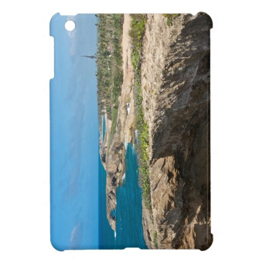 Coastal Cliffs and Beaches at Cueva del Indio Case For The iPad Mini