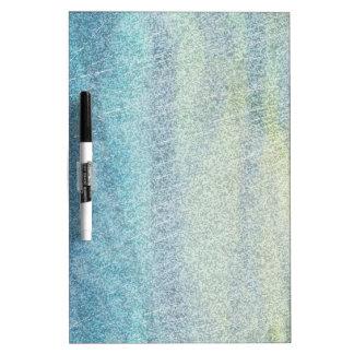 Coastal Colors Abstract Dry Erase Board