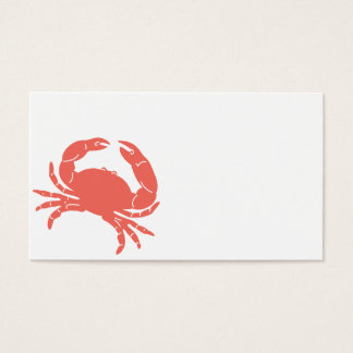 Coastal Crab Business Card