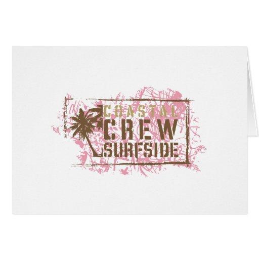 Coastal Crew Card
