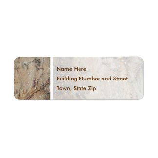 Coastal Driftwood Picture Label