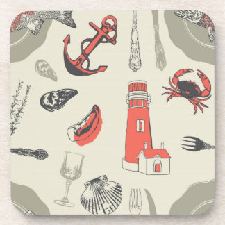 Coastal Drink Coaster