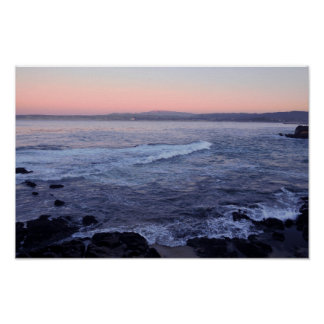 Coastal Evening Twilight Print
