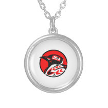 Coastal Flight Silver Plated Necklace
