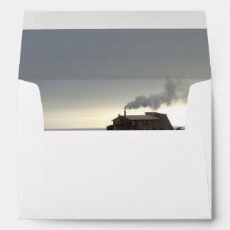Coastal Fog and Smoke Envelope
