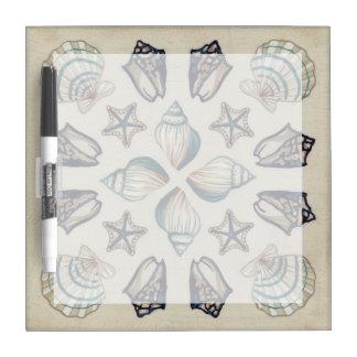 Coastal Kaleidoscope I Dry-Erase Board