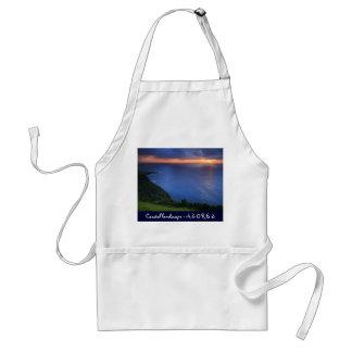 Coastal landscape adult apron