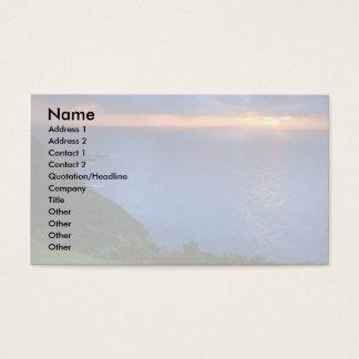 Coastal landscape business card