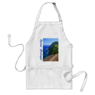 Coastal landscape in Azores Adult Apron