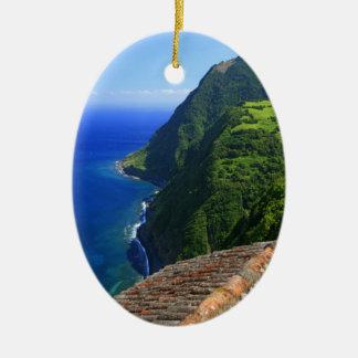 Coastal landscape in Azores Ornament