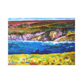 Coastal landscape of Brittany Gallery Wrapped Canvas