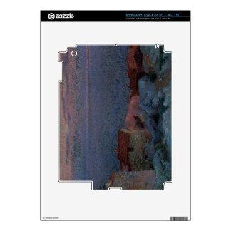 Coastal Landscape (oil on canvas) iPad 3 Decals