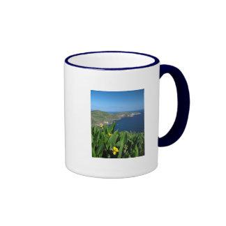 Coastal landscape ringer mug