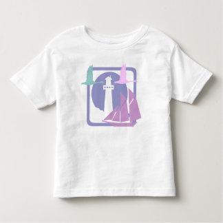 Coastal landscape toddler t-shirt