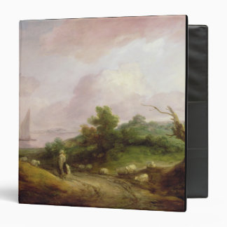Coastal Landscape with a Shepherd and his Flock, c Binder
