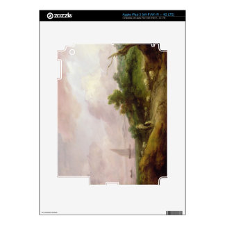 Coastal Landscape with a Shepherd and his Flock, c Decals For iPad 3