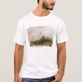 Coastal Landscape with a Shepherd and his Flock, c T-Shirt