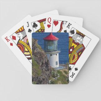 Coastal lighthouse, Hawaii Playing Cards