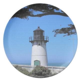 Coastal Lighthouse Plate