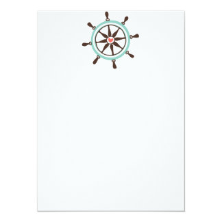 Coastal Love Boat Helm Card