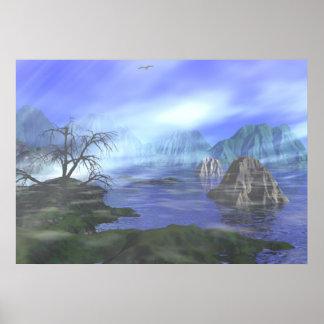Coastal Mist ~Print~ Poster